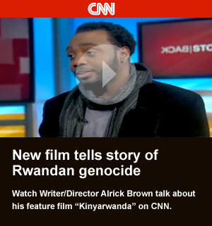 Director Alrick Brown talks Kinyarwanda on CNN